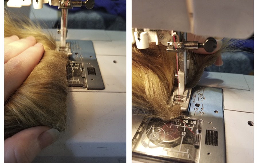 How to Sew and Blend Faux Fur Seams