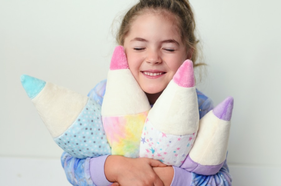 How to Sew a Minky Fabric Pencil Pillow (Stuffie Video Tutorial & Free Pattern)