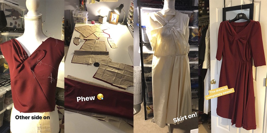Harry Potter Durmstrang Dress Cosplay Sewing Tutorial Video No mention has been made in any of the canon writings; harry potter durmstrang dress cosplay