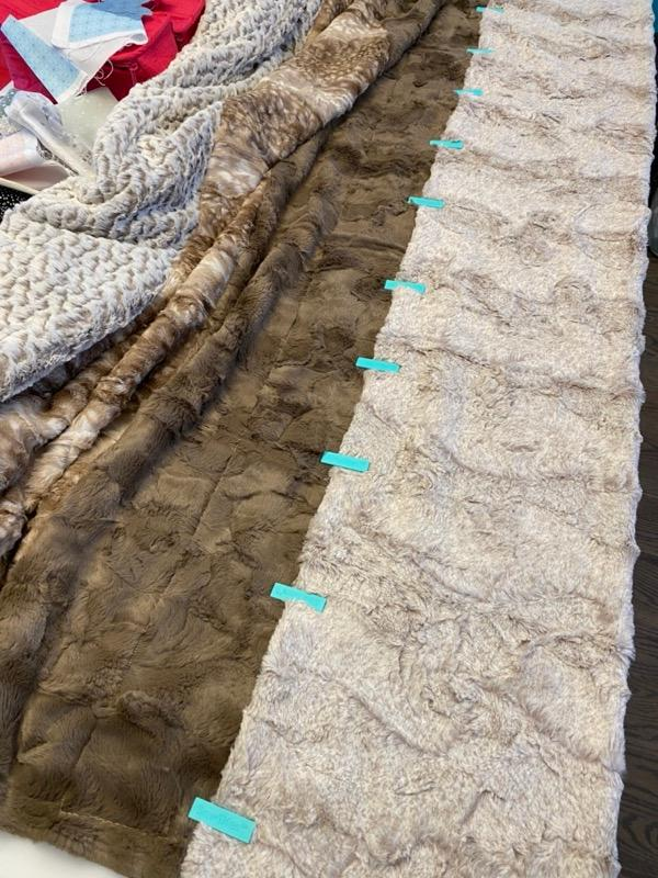 Tutorial: How to Make a Cuddle® Minky Fabric Strip Quilt (with Precuts)