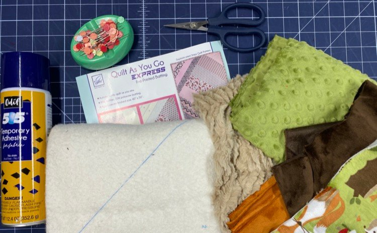 How to Use Pre-Printed Batting to Make a Quilt