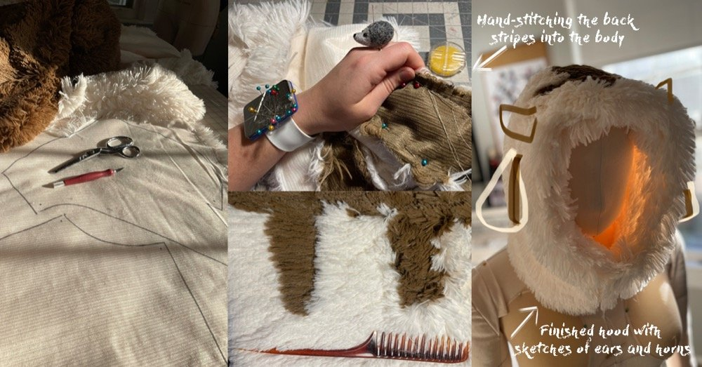 How to Sew an Appa-Inspired Hoodie (Avatar the Last Airbender Cosplay Video Sewing Tutorial)
