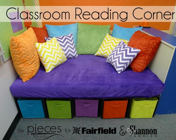 DIY Reading Corner with Cuddle® Fabric