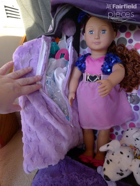 Cuddle Easy DIY Garment Bag for doll outfits