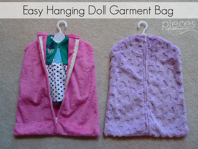 Cuddle Easy Garment Bag for doll outfits