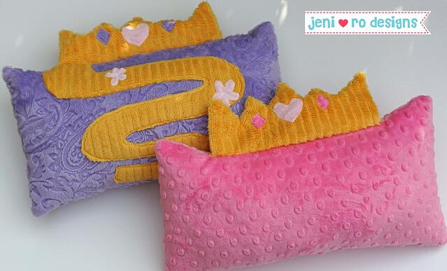 2 princess pillows