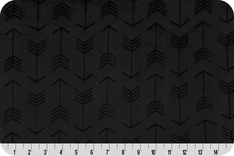 Embossed Arrow Cuddle Fabric