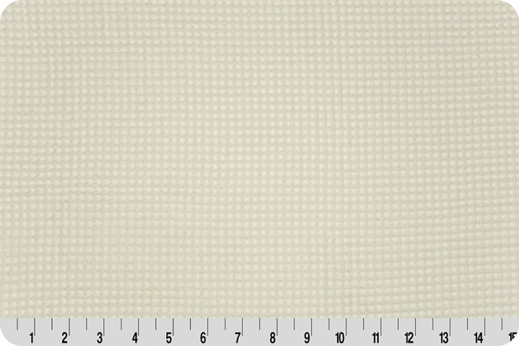 Turkish Waffle Fabric in Ivory
