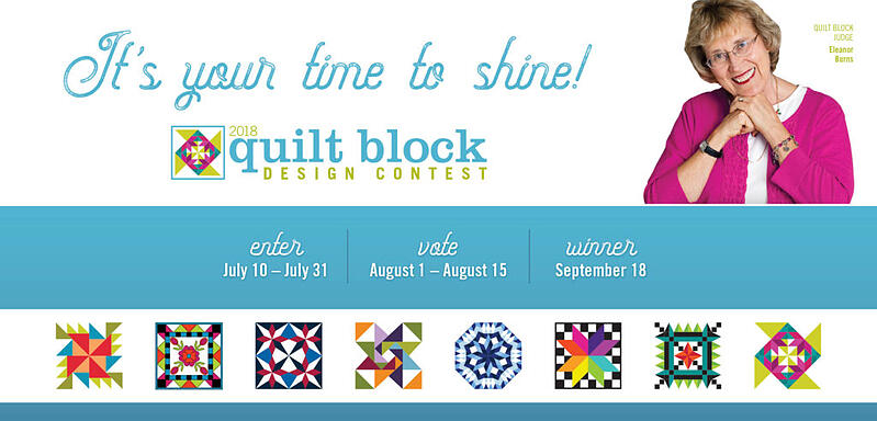 AccuQuilt Quilt Block Design Contest 2018 with ideas