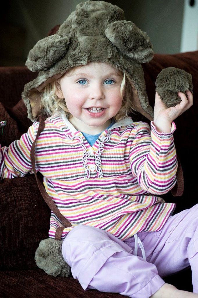 Animal Hat in Luxe Cuddle - so cute
