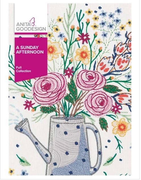 Anita Goodesign A Sunday Afternoon Embroidery Collection