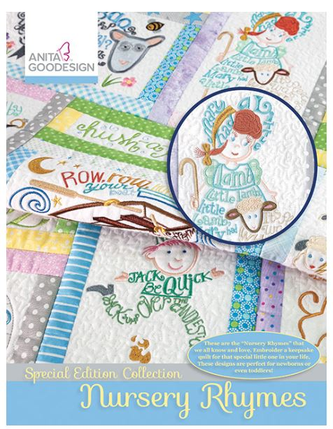 Anita Goodesign Nursery Rhymes Special Edition Design