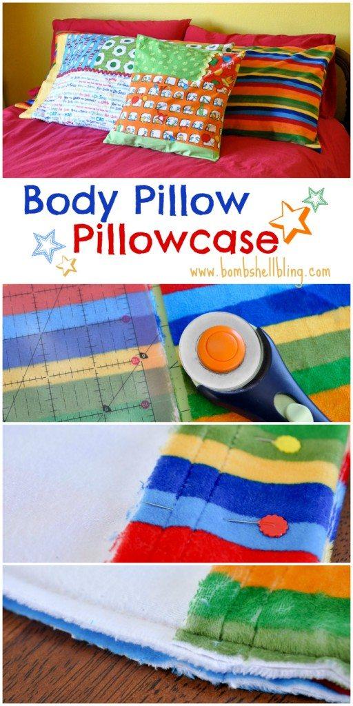 Body Pillow Pillowcase Tutorial