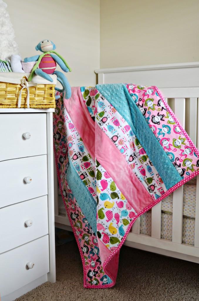 Chicakadee Cuddle Quilt Kit