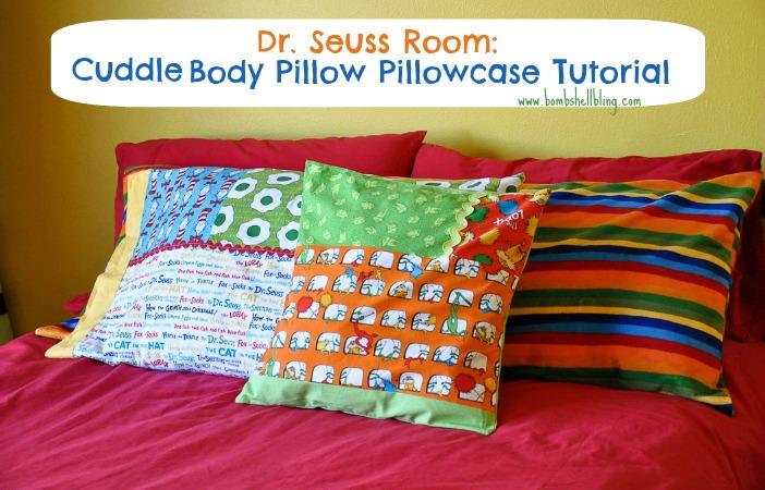 Cuddle Body Pillow Pillowcase Tutorial