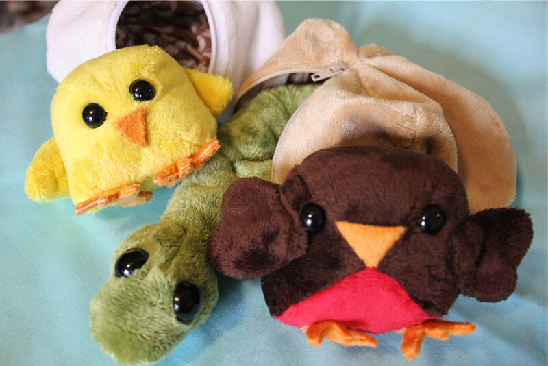Cute Cuddle Hatchlings group from Sew Cuddly