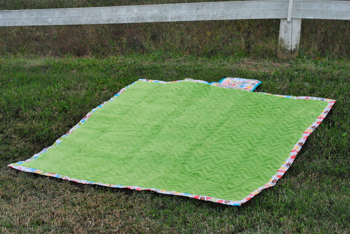 Cuddle Park Blanket from On the Go Bags