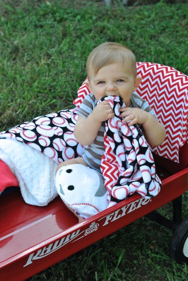 Baseball Buddy Soft Baby Toy Tutorial