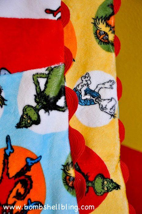 Dr Seuss Cuddle Blanket