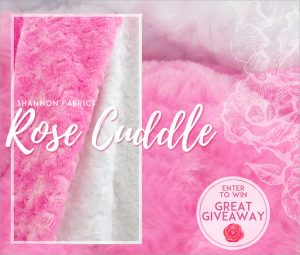 Great Giveaway Rose Cuddle with Sew4Home