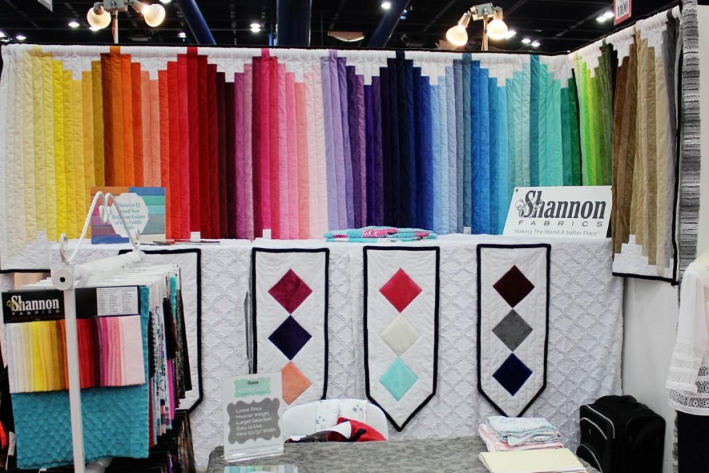 Houston Market 2015 Shannon Fabrics Booth