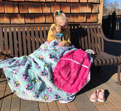 cuddle sleeping bag for kids