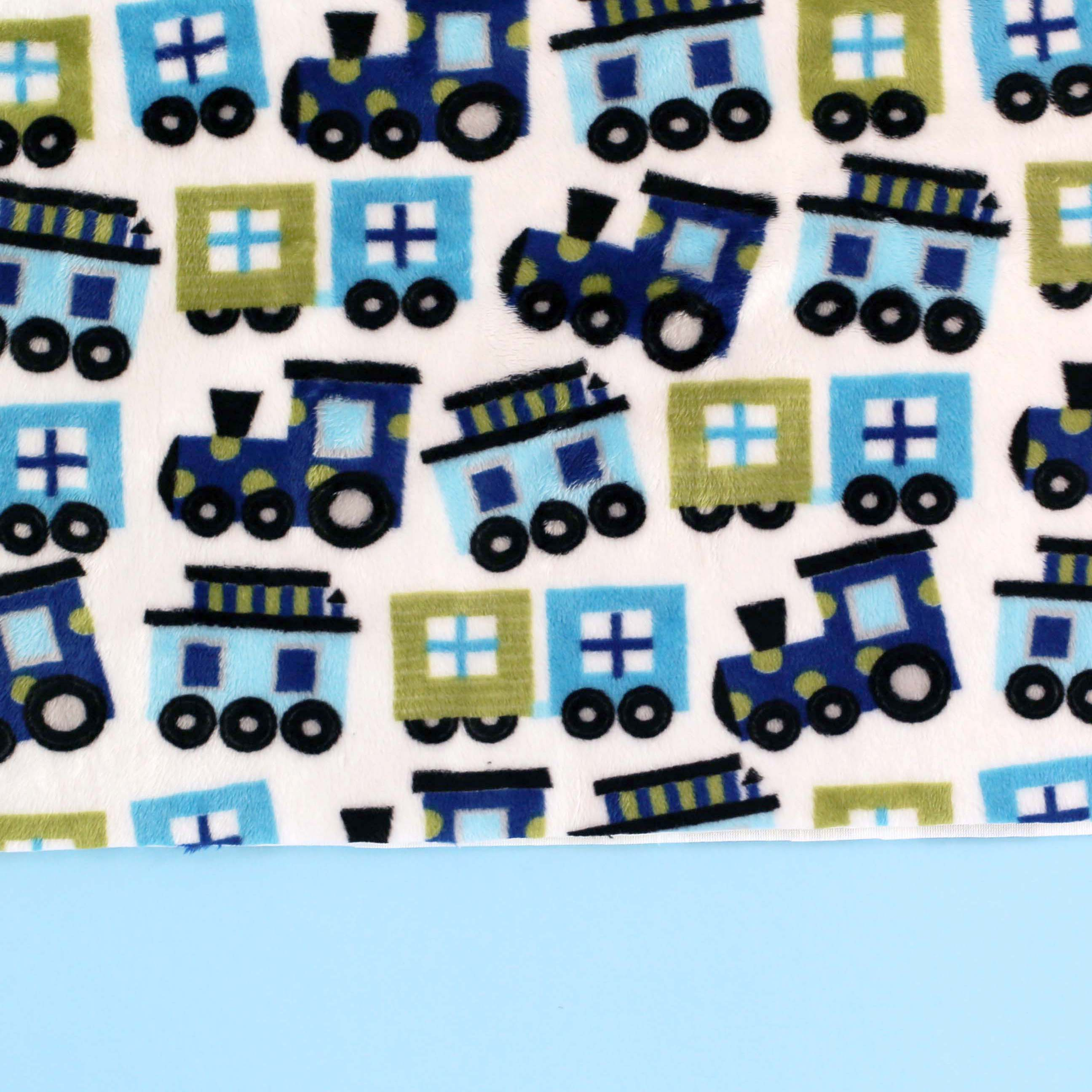 Ready Set Go by Ann Kelle, a Robert Kaufman Cuddle Collection, so cute for DIY sewing projects - full of planes, trains and automobiles