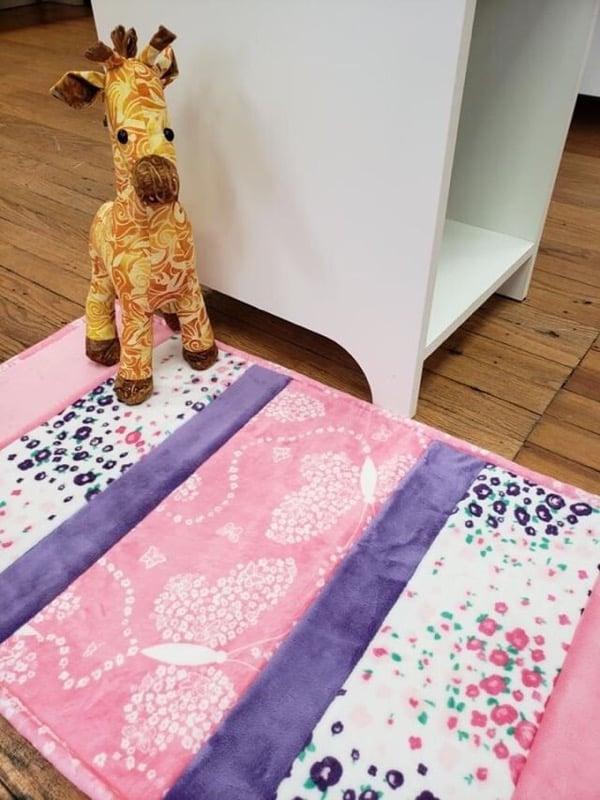 cuddle bath mat shannon fabrics