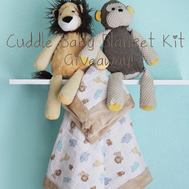 Cuddle Baby Blanket Kit Giveaway
