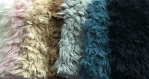 Llama Cuddle fabric