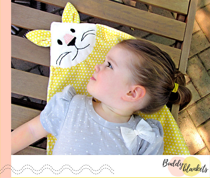 Loving this Kitty Cuddle Animal Buddy Blanket