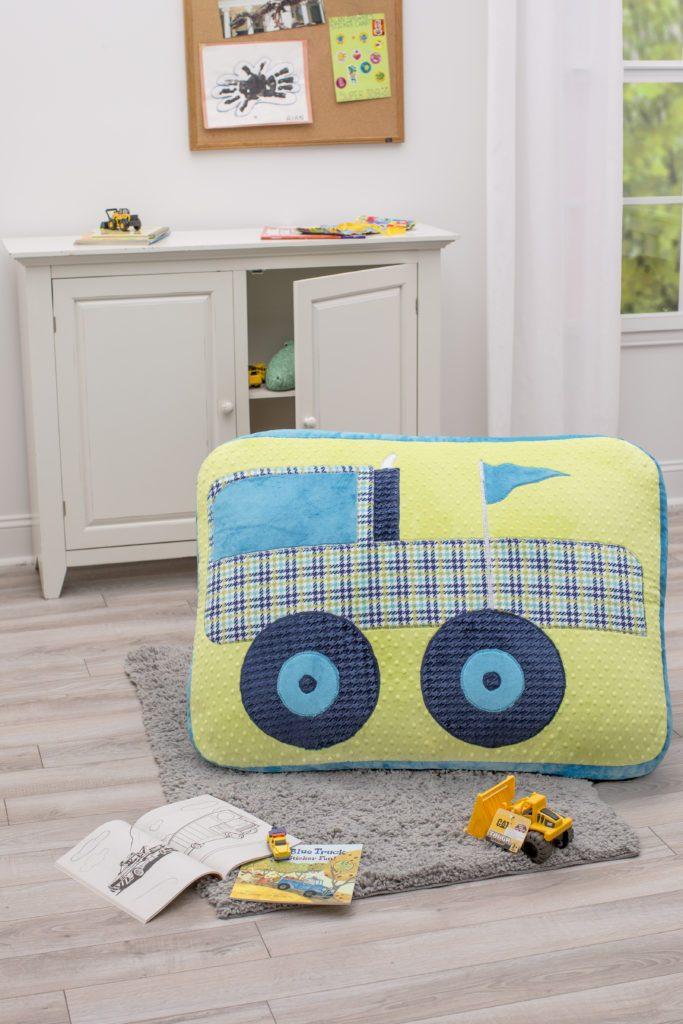 Monster Truck Floor Pillow