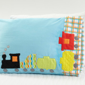 Pattern 32: Train Pillowcase