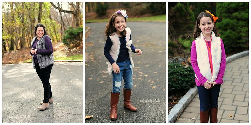 Cozy Faux Fur Vest Sewing Pattern & Tutorial