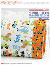 Pattern 23: Plush Pillowcase