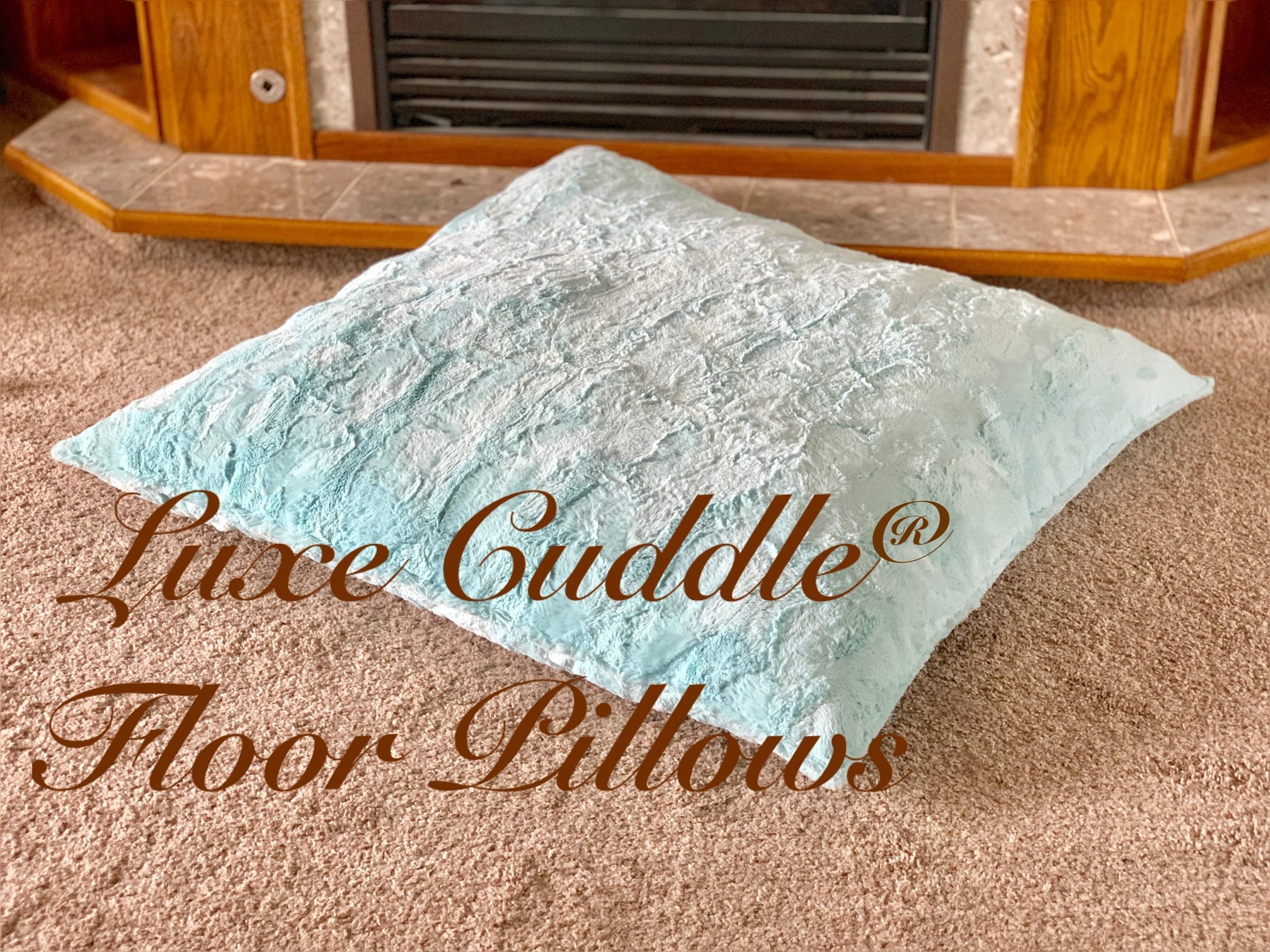Quick Luxe Cuddle Floor Pillows