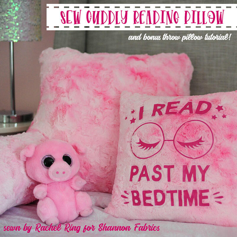 Luxe Cuddle Reading Pillow set