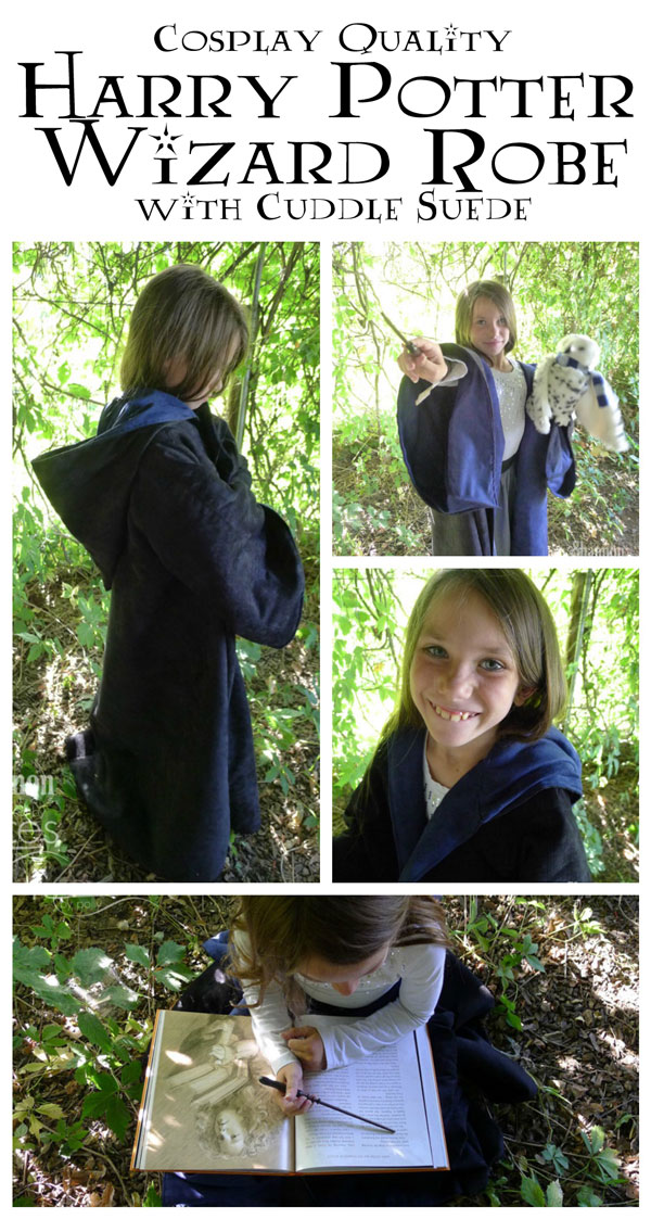 Cosplay Harry Potter Ravenclaw Robe with Cuddle Suede