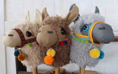 Stick Horse Hobby Horse and Plush Toy Sewing Patterns