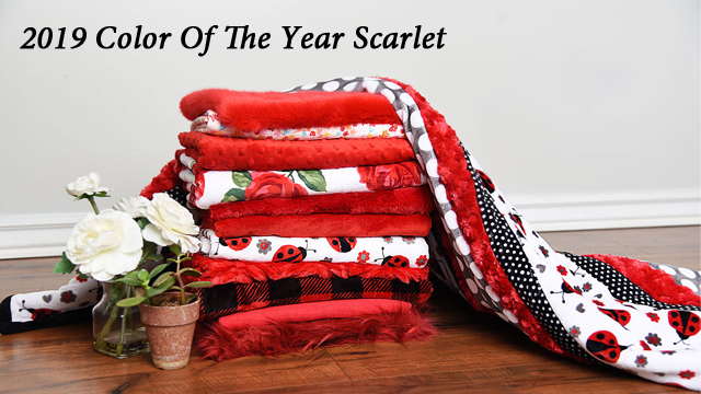 2019 Color of the year Scarlet