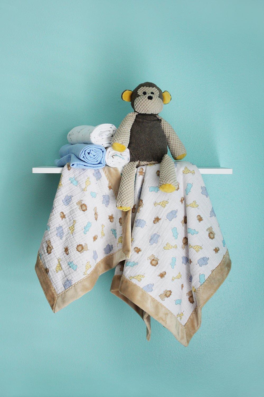 Cuddle Self-Binding Baby Blanket & Lovey