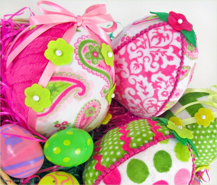 Sew4Home Cuddle Soft Easter Eggs