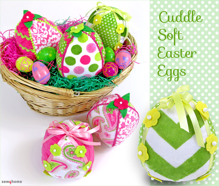 Sew4Home Cuddle Soft Eggs