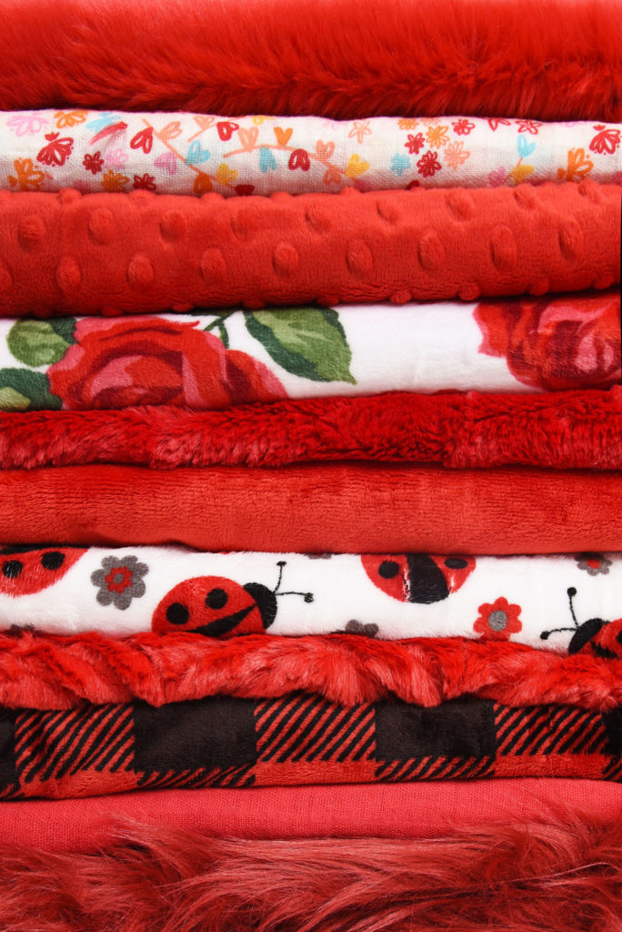 Shannon Fabrics color of the year 2019 Scarlet fabrics