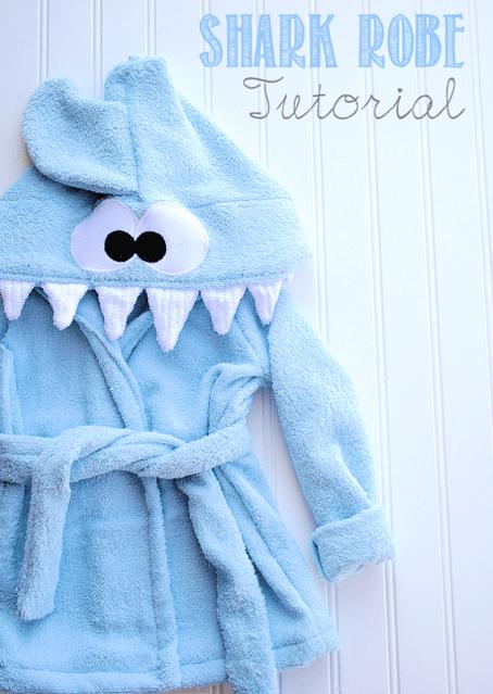 Terry Cloth Shark Robe Pattern & Tutorial