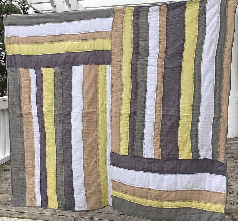 Summer Sunshine Embrace Double Gauze Quilt created by Liberty Worth of Libby Dibby