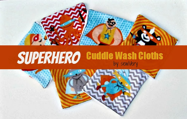 Superhero washcloths1