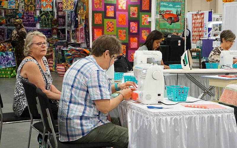 The Utah Show Marketplace sewing