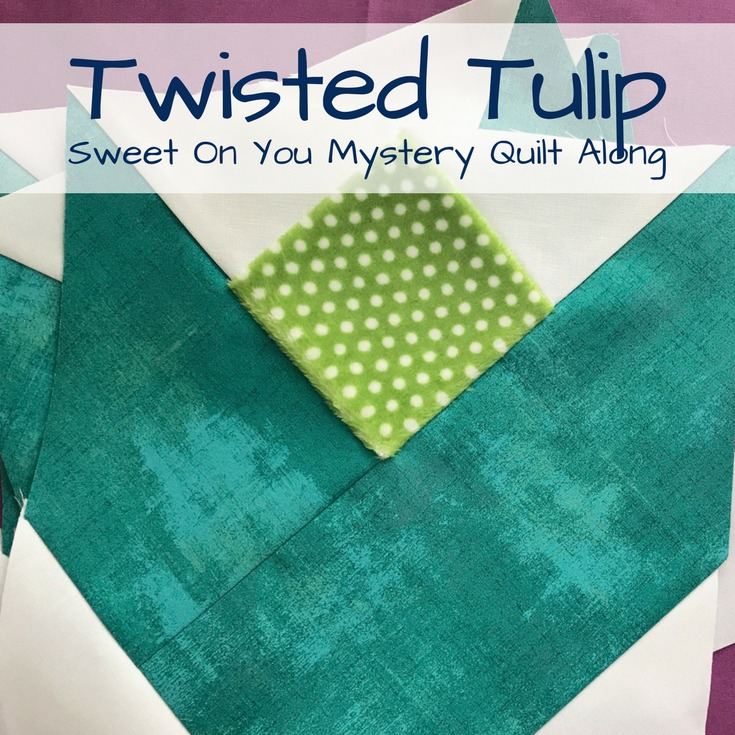 Twisted Tulip Block