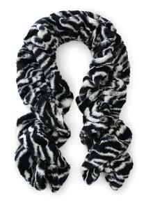 Cuddle Twisty Scarf Zebra